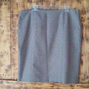 Black label by Evan picone size 18 tan skirt